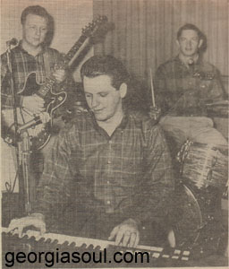 Johnny Barfield & the Men from S.O.U.L. copywrite Forrest Hickman,The Columbus Ledger 1967